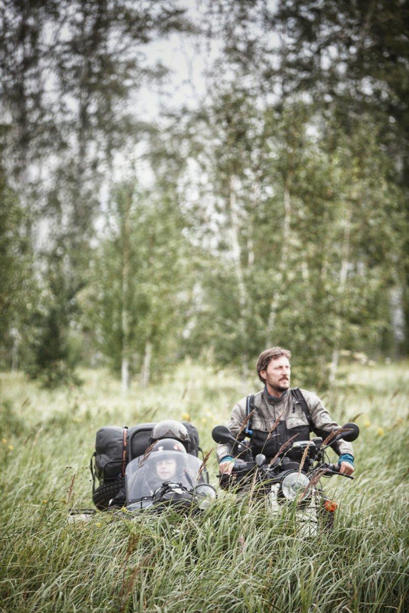 Сибирская тайга, Россия монголия, мотоцикл, мотоцикл с коляской, мотоцикл урал, путешественники, путешествие, средняя азия, туризм