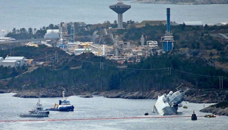 Странности «гибели» норвежского фрегата «Helge Ingstad»