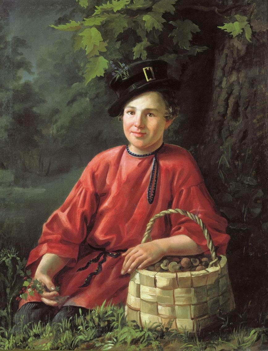 Белорусский и российский художник. Хруцкий Иван Фомич (1810-1885)