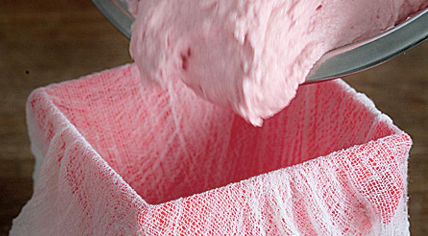 Розовая пасха с вареньем. Шаг 5