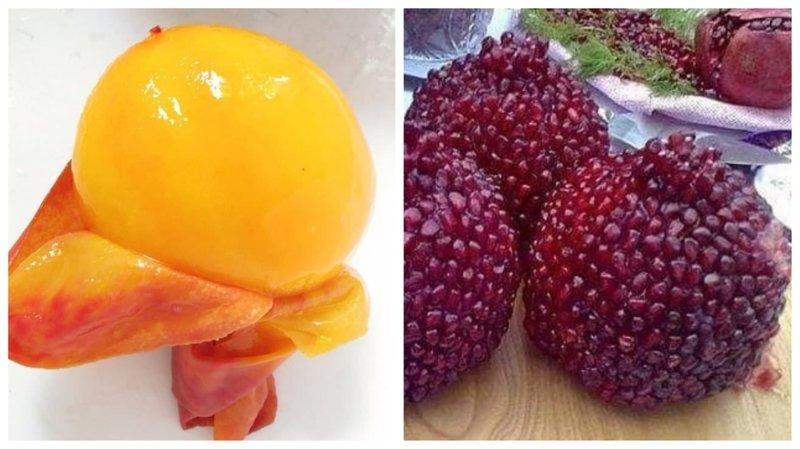 Фрукты, овощи и ягоды без кожуры: красиво или безобразно? Вопрос ребром, восприятие, кожура, овощи, очищенные, фрукты, фрукты и овощи, ягоды