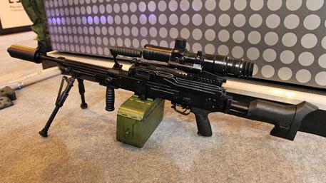 Новое оружие России: секретный пулемёт на базе ПКП «Печенег»