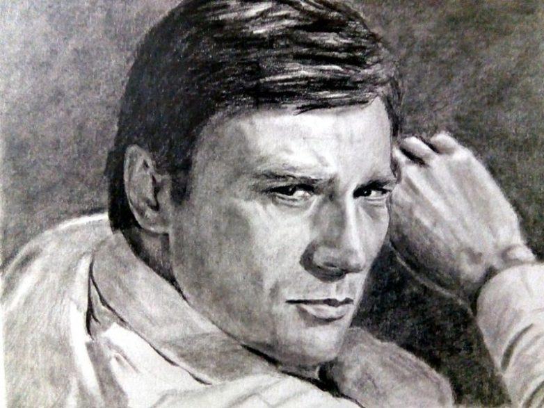 Портреты наших любимых актёров, выполненные простым карандашом