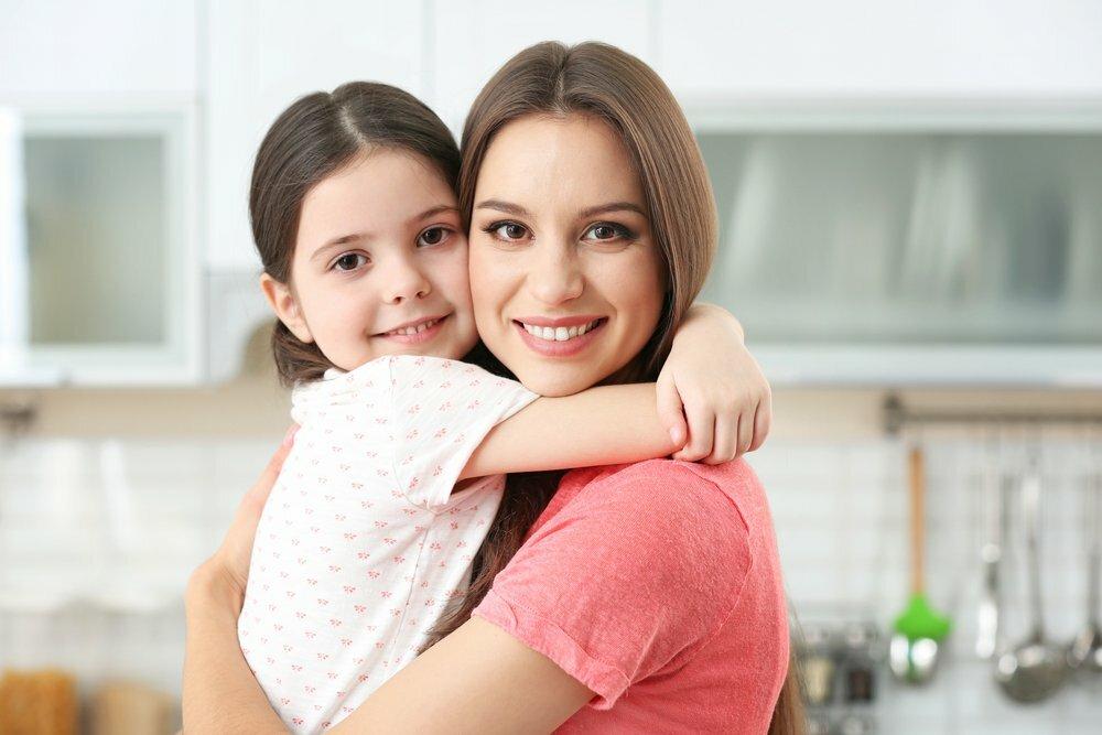 У мамы и дочки доверительные отношения