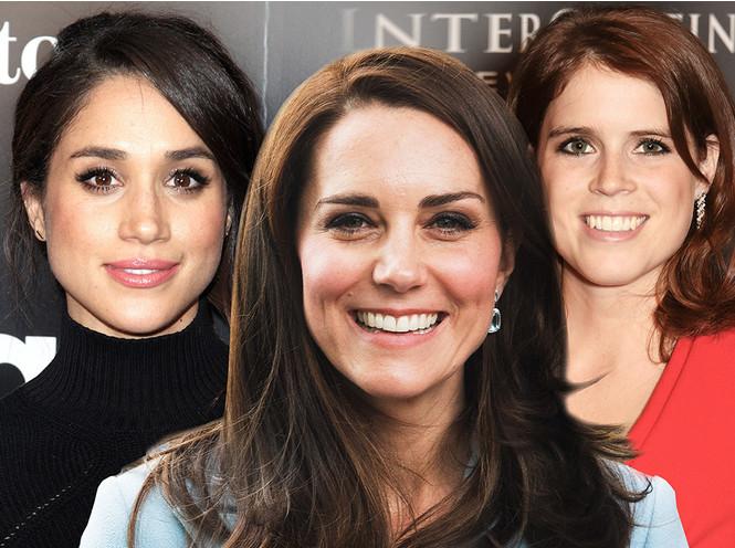 Идеальное королевское лицо: Меган, Кейт или Евгения?