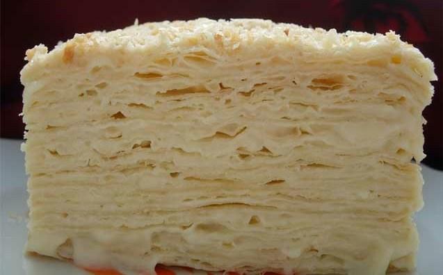 Наш любимый торт с необычным кремом. Вкуснятина