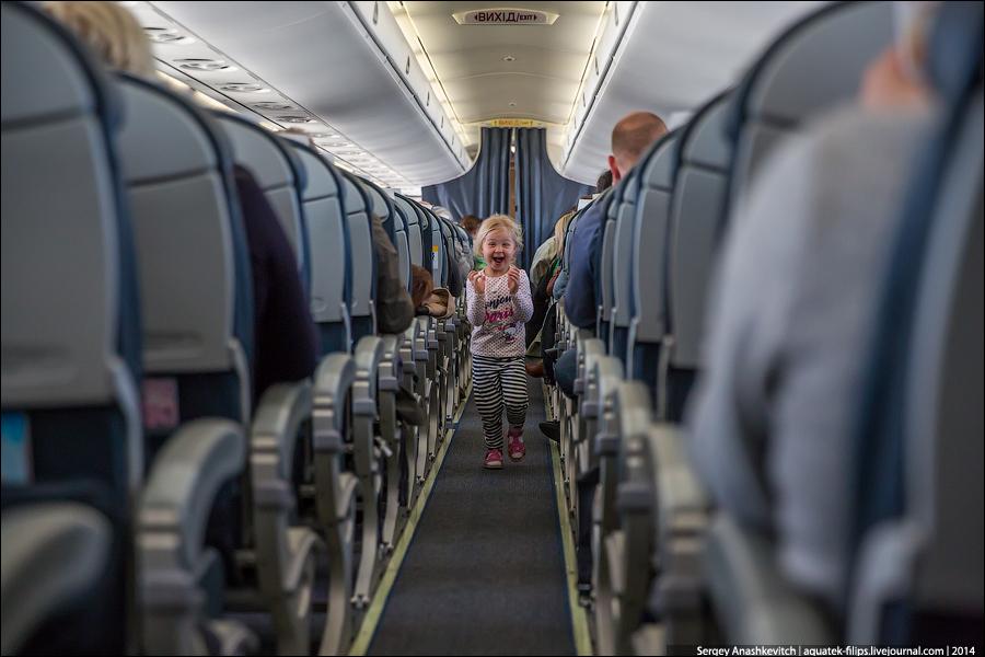 Инструкция. Как отправить ребенка одного самолетом