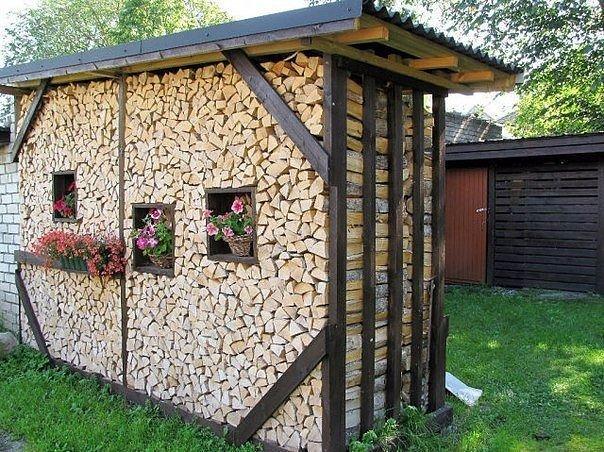 Идея кладки дров...