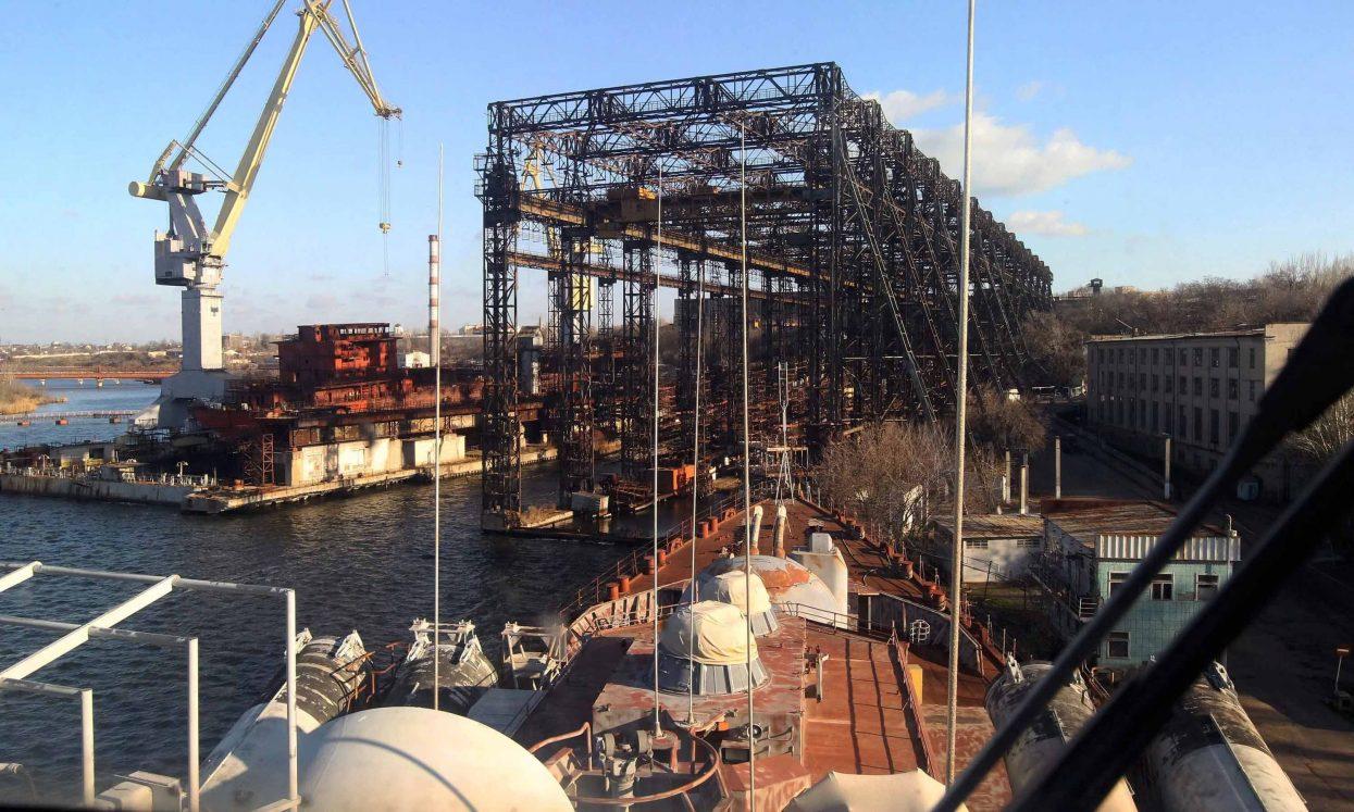Обанкротившийся Николаевский судостроительный завод попросил помощи у Меркель и Папы Римского
