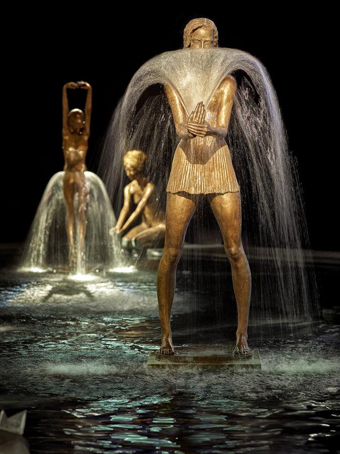 Невероятно красивые фонтаны …