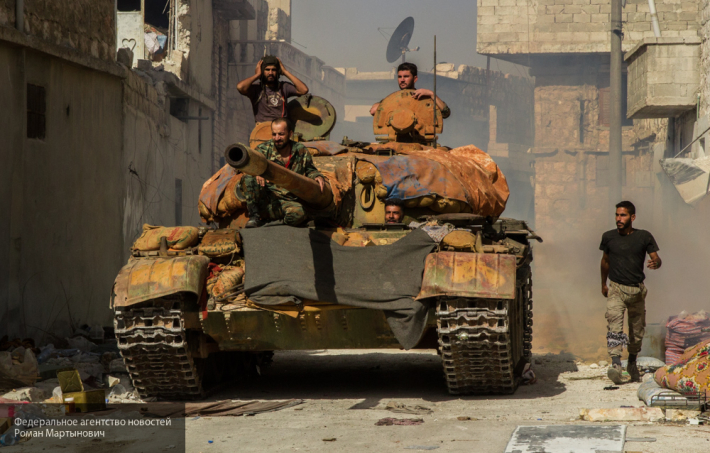Путь на Ракку свободен: последний оплот террористов в Алеппо пал