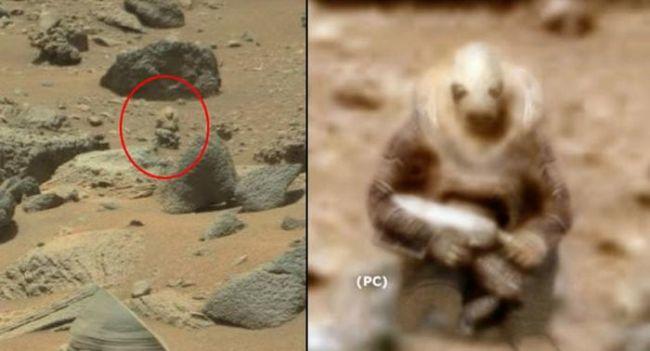 Уфологи обнаружили на Марсе «вооруженного солдата»
