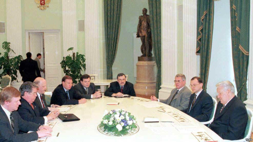 """Как Путин разбирался с """"семи…"""