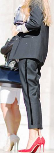 Брючный костюм — униформа суперженщины. Модный обзор