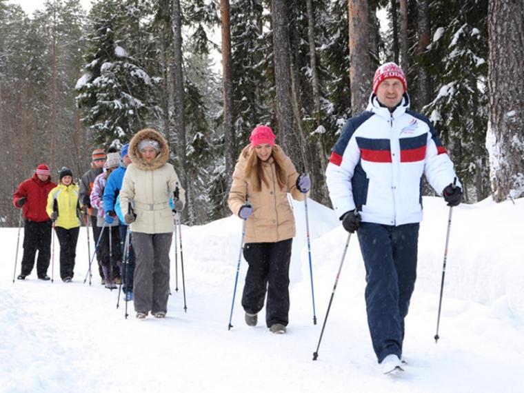 Чем полезна скандинавская ходьба с палками?