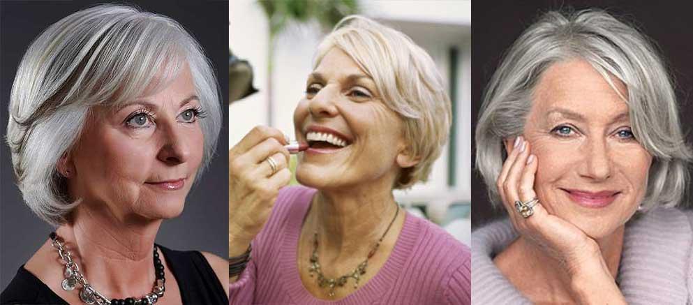 Макияж для возрастной женщины фото
