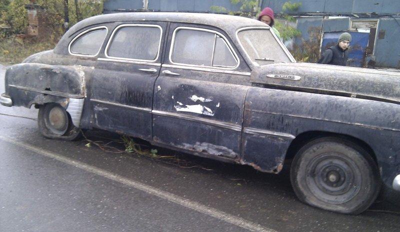 """Реставрация ГАЗ-12 """"ЗИМ"""""""