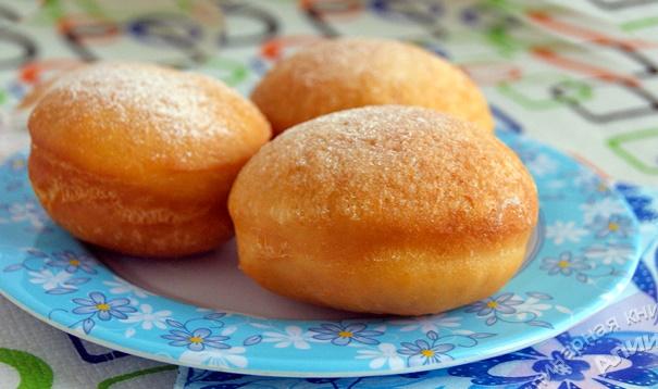 Мягкие, воздушные пончики с хрустящей корочкой!