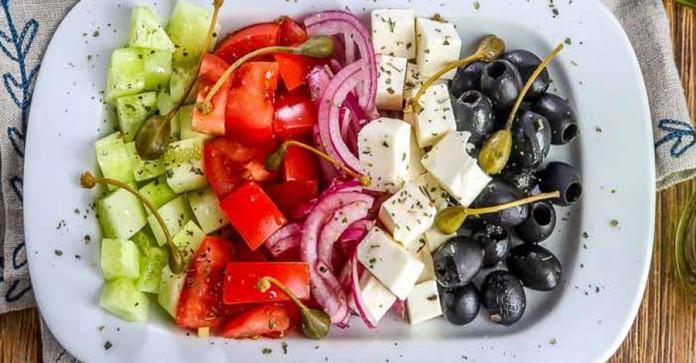 Легкие салаты без майонеза: …