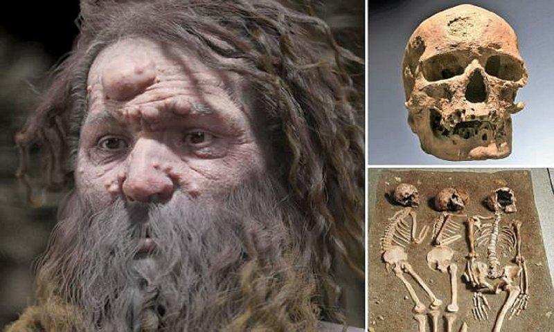 Ученые реконструировали страшный лик древнего человека