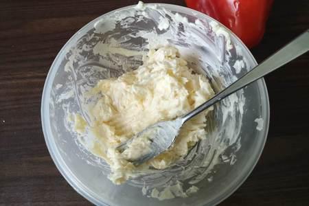 Антипасти по-советски или фаршированный  сыром перец: фото шаг 2