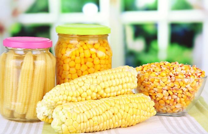 Сахарная консервированная кукуруза