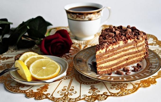 Торт «Крем брюле»