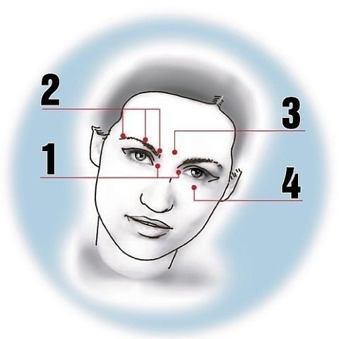 Как быстро снять усталость глаз?