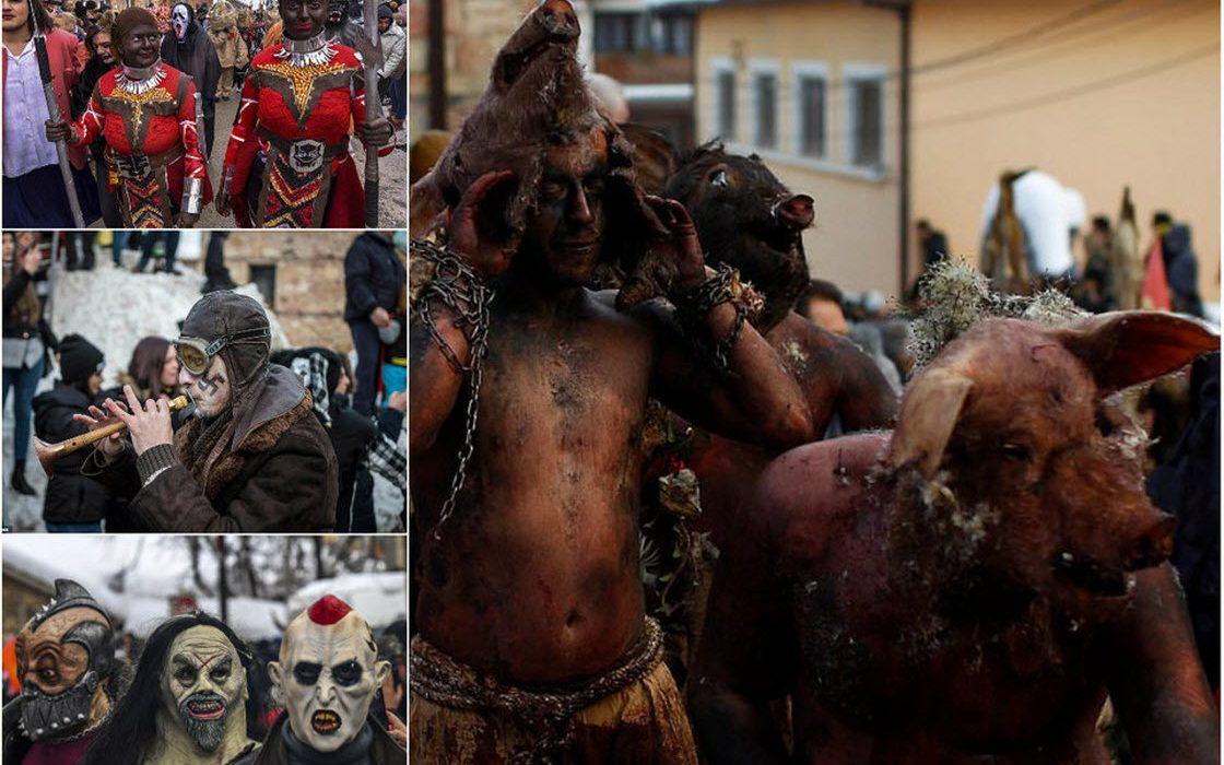 Причудливый карнавал в макед…