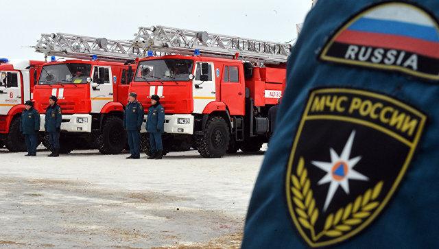 В Москве загорелся троллейбус с пассажирами
