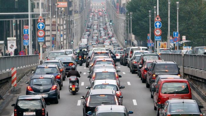 Зарубежные города с самыми большими автомобильными пробками