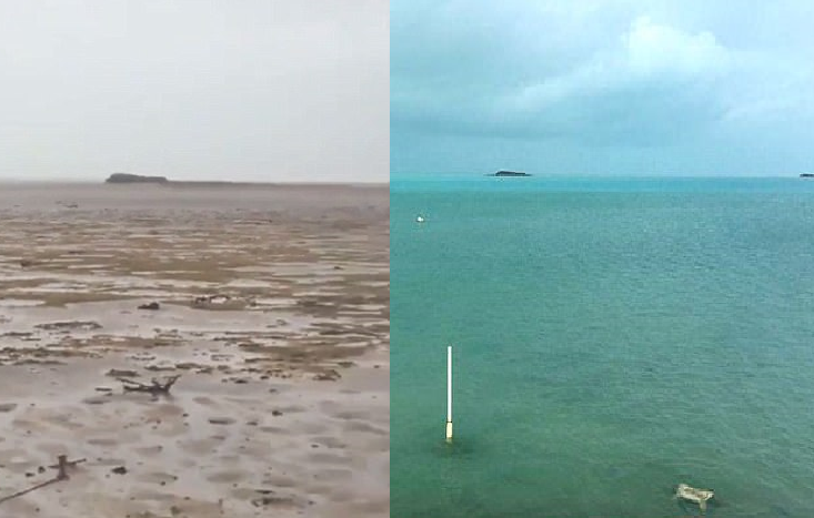 Океан просто исчез: прошлого…