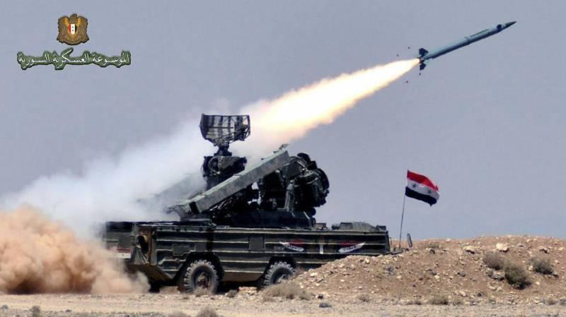 В охоте на «Томагавки» поучаствовала сирийская «Оса»