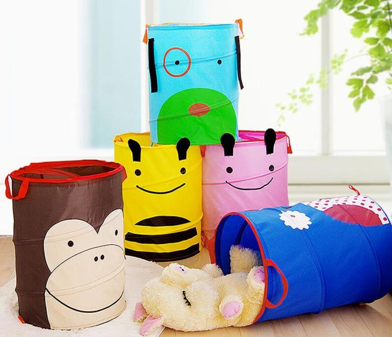 Корзина для игрушек – стильный аксессуар и отличный способ сохранить порядок