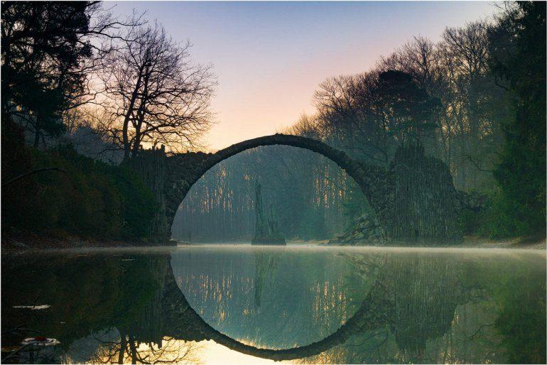 Дьявольский мост в Германии