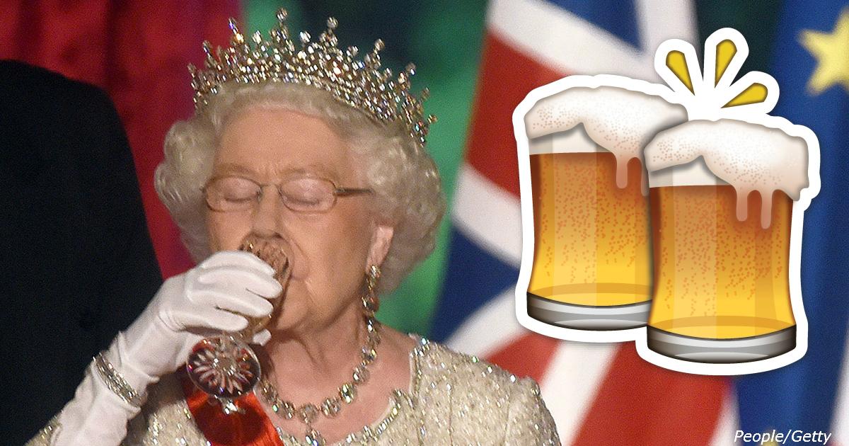 Сегодня Елизавете ІІ – 92, и она каждый день выпивает по 4 бокала. Вот королевский рецепт