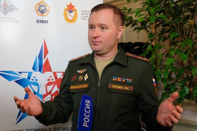 Михаил Барышев: «Я настроен на победу!»