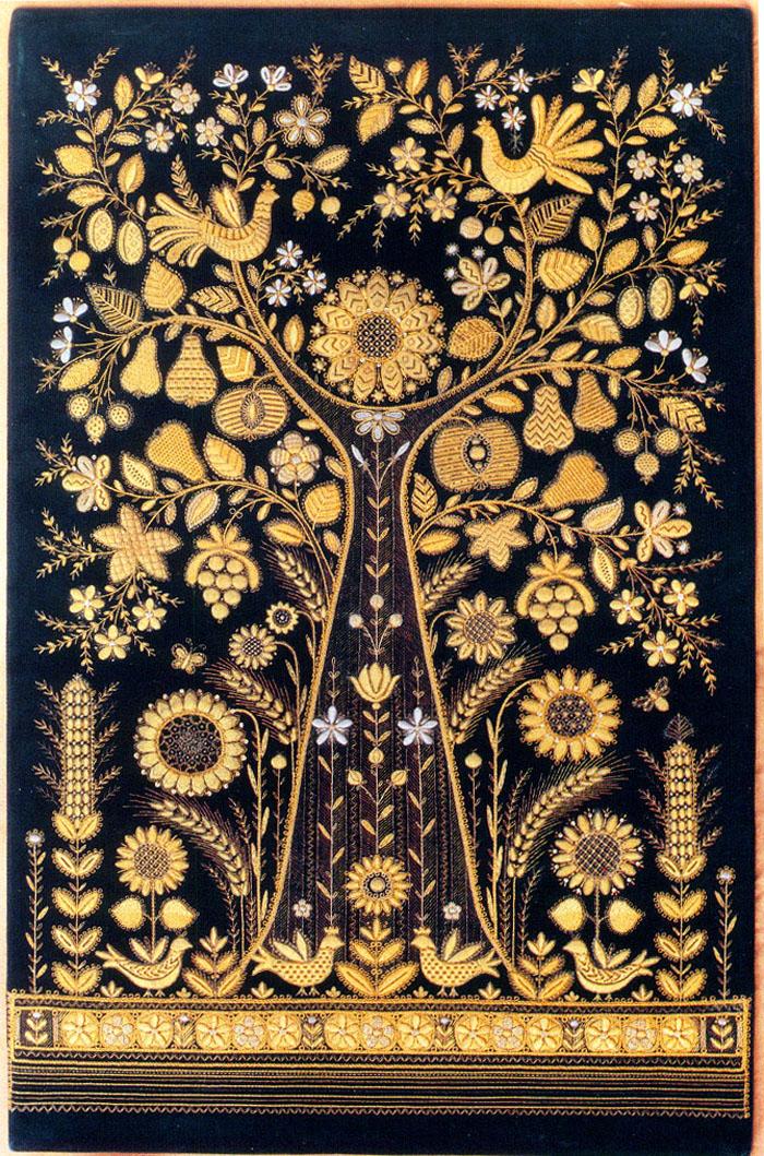 Вышивка золотом схемы 57