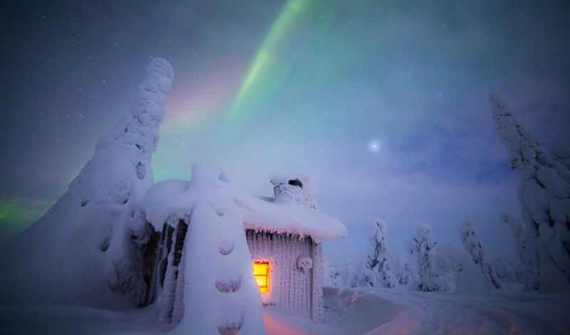 Лапландия волшебное место