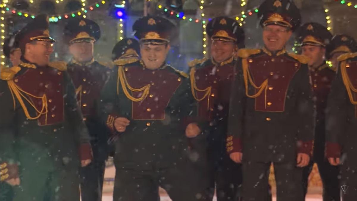 Новогодний клип ансамбля Росгвардии на песню «Last Christmas»