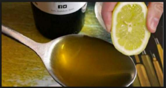 Смешайте 1 лимон с 1 столовой ложкой оливкового масла.Используйте эту смесь всю остальную жизнь!