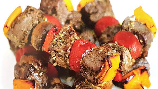 Кебабы из баранины с перцем и помидорами: рецепт для барбекю от Гордона Рамзи