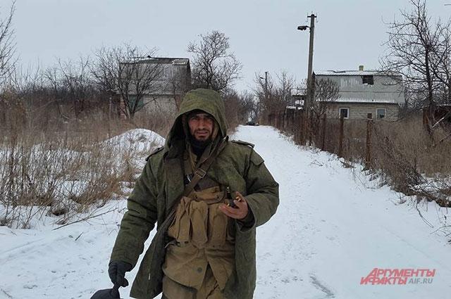 Рафи Джабар на Донбассе.