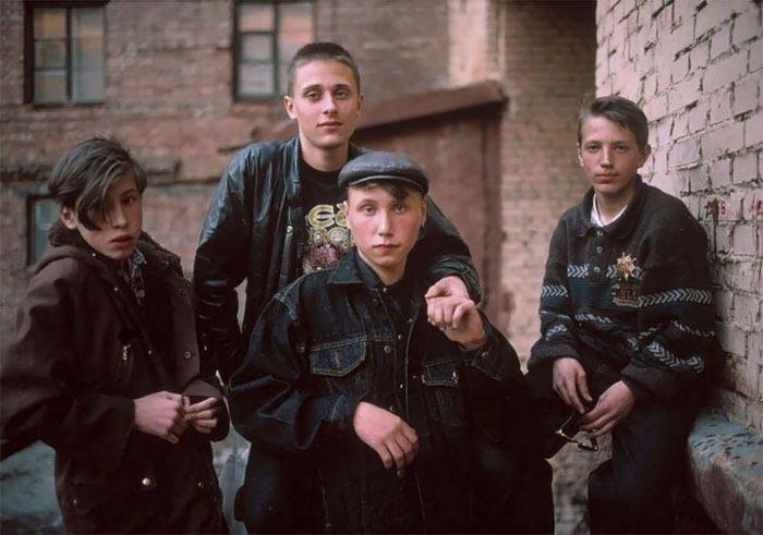 Фотографии России в суровые 90-е