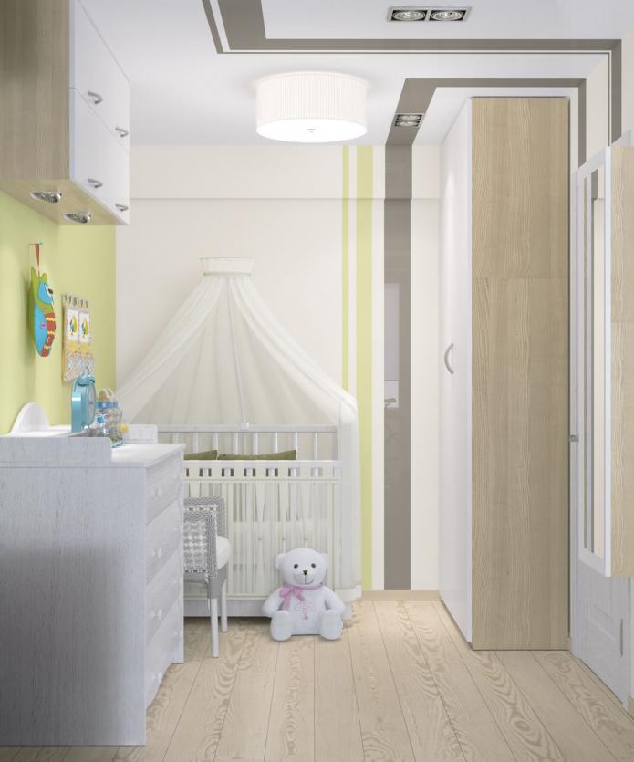 Однокомнатная квартира 33 кв. м. с детской