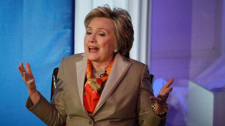 WT: Клинтон допустила, что будет оспаривать победу Трампа на выборах из-за русских .