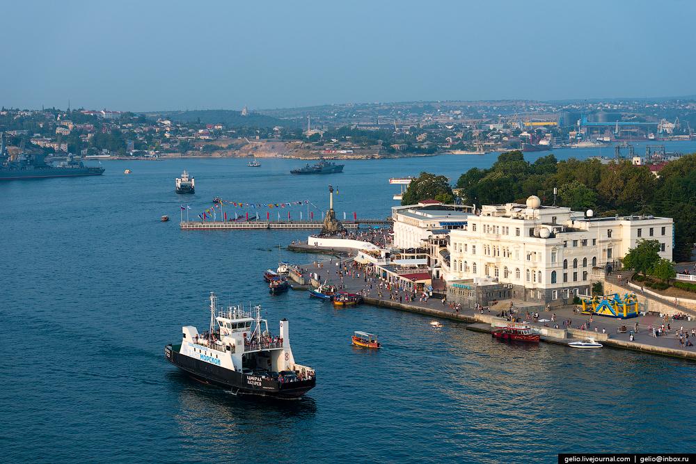 Севастополь и Симферополь с высоты: города пользы и славы