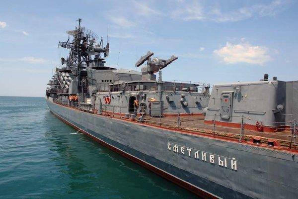 Россия наращивает свое присутствие у берегов Сирии: «Пытливый» и «Сметливый» вошли в Средиземное море