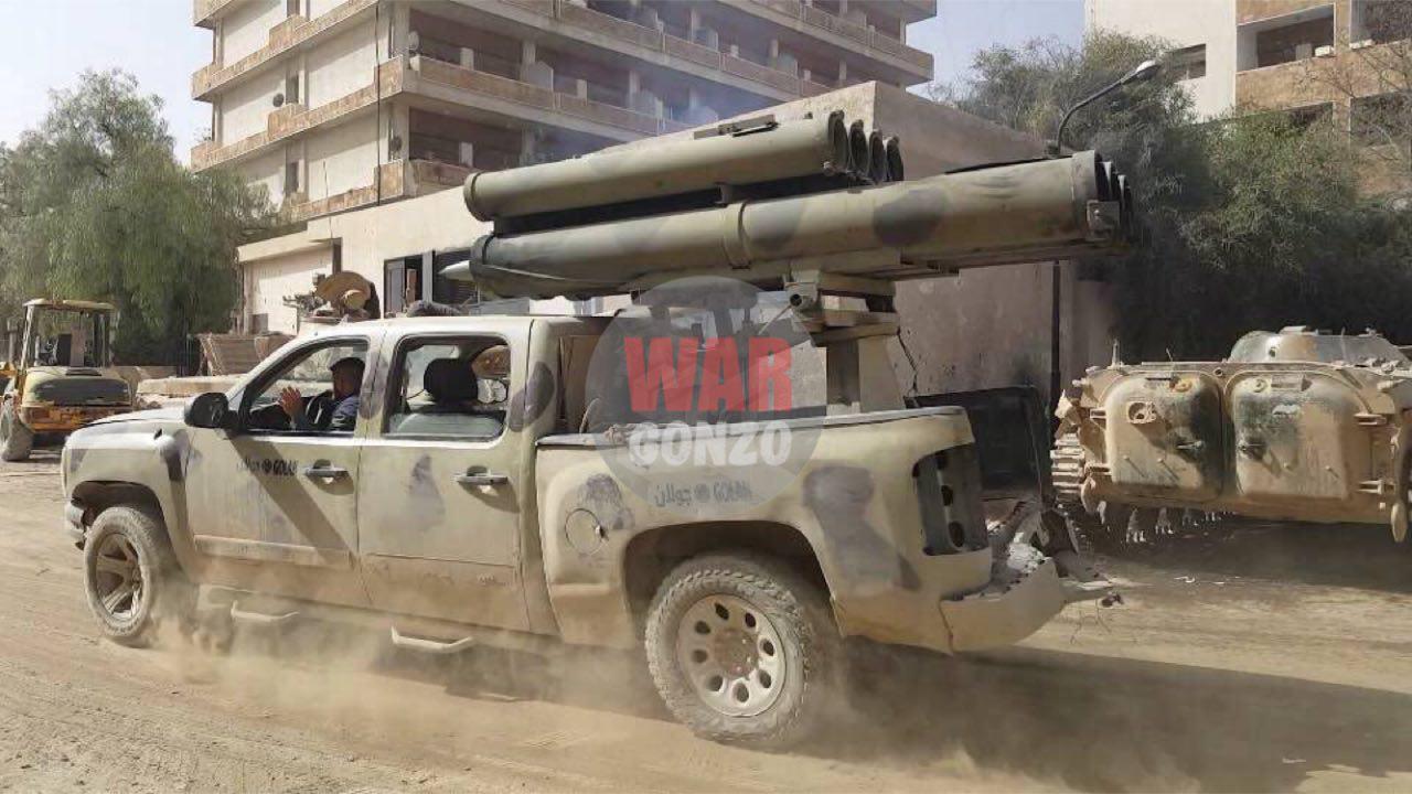 Сирийские ополченцы обстреляли американскую базу под Раккой