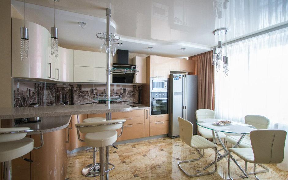 Фотография: Кухня и столовая в стиле Хай-тек, Классический, Квартира, Проект недели – фото на InMyRoom.ru